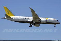 Boeing 787-8, Royal Brunei Airlines, V8-DLD, cn 34788/166. Taoyuan, Taiwan, 8.2.2016.