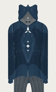 Cristian Boian's Fabric Cut Series