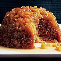 A robust steamed apple pudding Apple Pudding Recipe, Steamed Pudding Recipe, Custard Pudding, English Pudding, British Pudding, Apple Recipes, Sweet Recipes, Holiday Recipes, Christmas Recipes