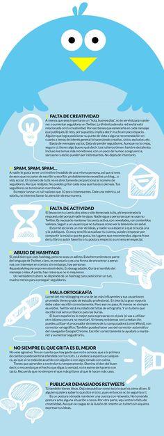 ¿Por qué estoy perdiendo seguidores en Twitter? #Infografía en español.