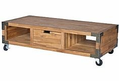 Wilsterman Coffee Table, Natural