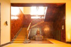 Innenraum, Pierro Portaluppi, , Villa Necchi Mid Century Interior Design, Contemporary Interior Design, Villa Necchi, Milanesa, Famous Architects, Milan Design, Cottage Interiors, Interior And Exterior, Stairs