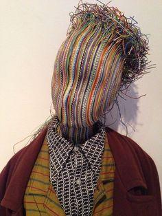 Dutch Art since Stedelijk Museum Schiedam Headdress, Headpiece, Performance Kunst, Pelo Editorial, Lucy Mcrae, Samhain, Arte Peculiar, Masks Art, Fashion Mask