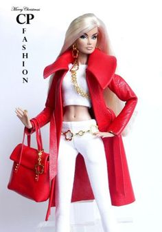 CP ITALIAN STYLE handmade outfit-for-FASHION-ROYALTY FR2                                                                                                                                                                                 Mehr