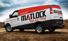 Electrician truck wrap for electrical contractor in CT. - NJ Advertising Agency…