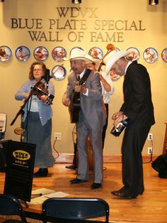 A Visitors Center performance by The Wilders from Kansas City, Missouri, performing for a noontime Blue Plate Live and on WDVX radio. Wall Of Fame, Blue Plates, Missouri, Kansas City, Tennessee, Attraction, Trips, Entertainment, Magazine