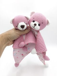 Easy Crochet Patterns, Amigurumi, Baby lovey toys by AVokhminaPatterns Crochet Bebe, Crochet For Kids, Carpets For Kids, Dou Dou, Baby Lovey, Baby Comforter, Newborn Baby Gifts, Security Blanket, Crochet Patterns Amigurumi