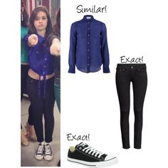 Camila Cabello.. by darlingx3 on Polyvore featuring moda, Giada Forte, H&M and Converse