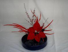 Ikebana Sogetsu di Natale (realizzato da Luca Ramacciotti)