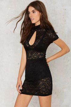 06f63494d9 Nasty Gal Into Full Sheer Lace Dress Sheer Lace Dress