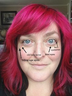 This was actually a very helpful article Makeup Tricks for Women Over 40 (That I Learned The Hard Way)