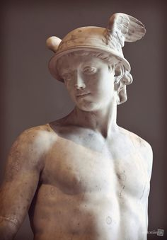 Classical Greece and Ancient Greek Warfare - (2016) #23 - A Close-up of  Pajou's Sculpture of Hermes/Mercury