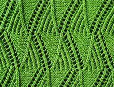 Mountain Peaks - Stitch Sample