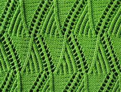 Mountain Peaks Stitch.  Lots of visual interest.