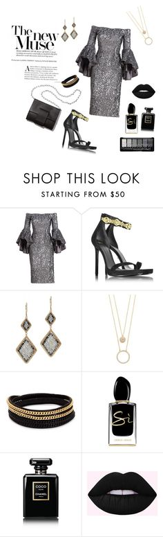 """""""The new muse"""" by sageross55 ❤ liked on Polyvore featuring Milly, Versace, MM6 Maison Margiela, Dana Kellin, Kate Spade, Vita Fede, Giorgio Armani and Chanel"""