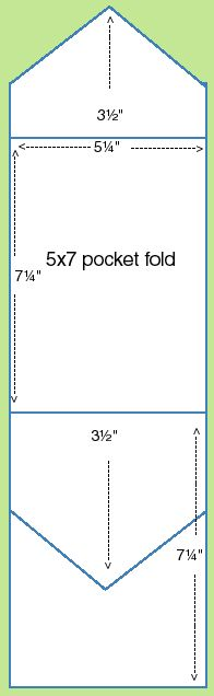 Template For Folded Pocket Invitation  Google Search  Faire Part