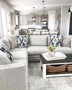 7 Serene Tips AND Tricks: Living Room Remodel On A Budget Small livingroom remodel how to paint.Livingroom Remodel Tips farmhouse living room remodel farm house.Living Room Remodel Before And After Inspiration. Cosy Living, Cozy Living Rooms, Home Living Room, Apartment Living, Living Room Designs, Kitchen Living, Living Room Couches, Neutral Living Rooms, Neutral Couch
