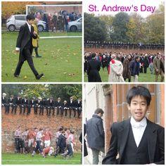 St Andrew's Day 2014 @ Eton College