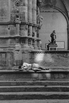 Florencia, 1962. Fotografía de Ferdinando Scianna.