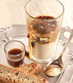 Gelatina de coco y cafe