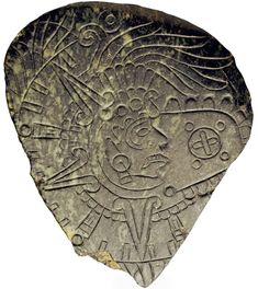 Jade pendant with Sun God Tonatiuh and gold disk symbol. The Aztecs were fascinated by the sun and carefully observed it, and had a solar calendar similar to that of the Maya. Many of today's remaining Aztec monuments have structures aligned with the sun.  In the Aztec calendar, Tonatiuh is the lord of the thirteen days from 1 Death to 13 Flint. The preceding thirteen days are ruled over by Chalchiuhtlicue, and the following thirteen by Tlaloc.