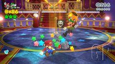 Super Mario 3D World co-op play