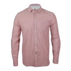 This slim fit Made and Crafted Levis shirt is part of the new autumn/winter collection and is constructed from brushed pale pink cotton. The one pocket shirt features button closure with a one button fastening to the cuffs, left chest pocket, curved hems and finished with the use of contrast white vintage burnt branded buttons throughout. Perfect for those winter months to wear as an every day shirt or under a jumper to add a bit of extra colour.    100% Cotton  Button closure  £120