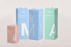 Milcom packaging on Behance