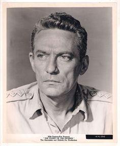 F12708 PETER FINCH THE FLIGHT OF THE PHOENIX US ORIGINAL B/W PHOTO 8x10