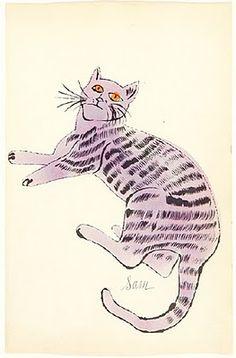 Lavender Sam, Warhol