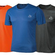 NWT Mens Clothing Sports Climb Running Play Dry Athletic T-Shirts Cool  #EZV #BasicTee