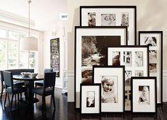 quadros enfileirados na parede - Pesquisa Google