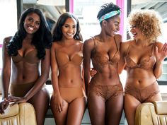 An innovative lingerie brand aims to 'empower' every woman with a new underwear collection for darker skin tones.