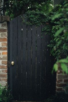 black garden gate - Google Search