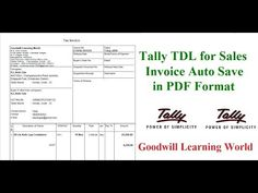 232 Best Free Tally TDL - Add on for Tally images in 2018