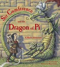 When Sir Cumference drinks a potion which turns him into a dragon, his son Radius searches for the magic number known as pi which will restore him to his former shape. Teaching Tools, Teaching Math, Math Teacher, Teacher Stuff, Teaching Ideas, Pi Math, Maths, Happy Pi Day, Math Books