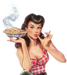 Gallery For > Pin Up Girl Baking