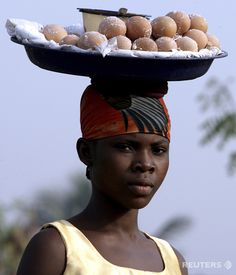 Buying eggs from street (car-side) vendors sustains the traveler as they roam the highways and dirt roads in Tro tros.