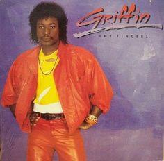 Griffin -  Hot Fingers GER 1984 Lp mint-
