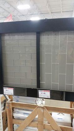 Floor And Decor Subway Tile Gray Glass Subway Tile Options Various Sizes Floor & Decor Braker