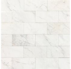 "View the Daltile M313-361L Marble Contempo White 6"" x 3"" Polished Stone Multi-Surface Tile at Build.com."