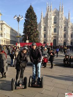 Share your #milan #segway experience!