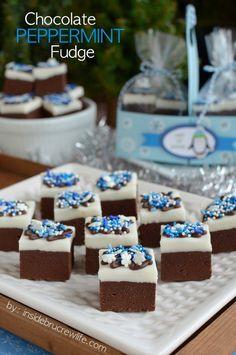 Chocolate Peppermint Fudge