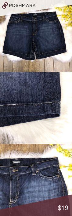 34d72ac4c24 Cabela s Jean Shorts Women s Size 18 Excellent used condition. Cabela s  Jean Shorts. Dark Wash