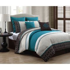 FREE SHIPPING! Shop Wayfair for Geneva Home Fashion Phyllis 8 Piece Comforter Set - Great Deals on all Bed & Bath products with the best selection to choose from!
