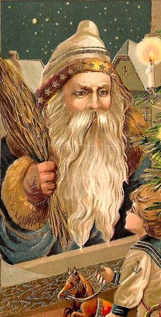 Santa Claus , St. Nick, Father Time, Christmas!