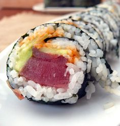Spicy Tuna Rolls: Sushi - It can be done folks!