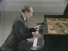 Vladimir Horowitz plays Chopin Ballade No. 1 in G Minor.  Love.
