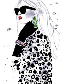 Kornelia Dębosz Fashion Illustrations