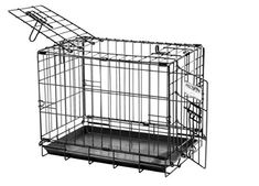 """Precision Pet by Petmate """"ProValu"""" Two Door Wire Dog Crate with Precision Lock System, 6 Sizes - Pets Wire Crate, Wire Dog Crates, Airline Pet Carrier, Dog Carrier, Xxl Dog Crate, Dog Crates For Sale, Puppies Tips, Dog Cages, Dog Diapers"""